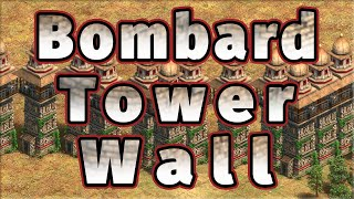 The Bombard Tower Wall