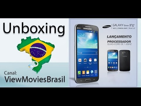 Unboxing Smartphone Galaxy Gran 2 Duos TV - G7102T [PT-BR]