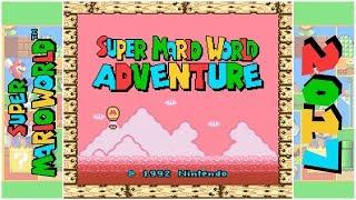 Super Mario World Adventure (D)   Hack of Super Mario World (SNES)