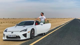 THIS Is The Lexus LFA - The £500,000 Supercar With An Incredible Exhaust Sound!
