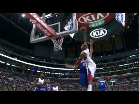 Caron Butler Drives in for the Facial