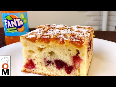 Пирог на ФАНТЕ  Очень Высокий, а Какой Вкусный:) | FANTA CAKE | FANTAKUCHEN | Ольга Матвей