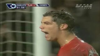 Cristiano Ronaldo Vs Derby County Home (08/12/2007) By zBorges