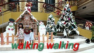 WALKING WALKING SONG | BABY SONG | NURSERY RHYMES KIDS SONGS | XMAS SEASONS