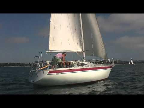 1976 Yamaha Mkii 25 Foot Sailboat Sailing Mission Bay San