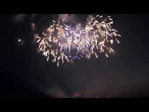 Fireworks at Soaring Eagle Casino Mt. Pleasant 2014