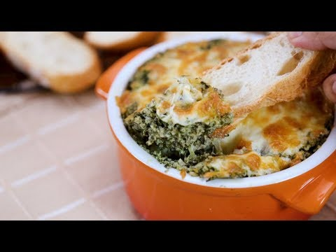 Spinach-Mushroom Dip Recipe | Yummy PH