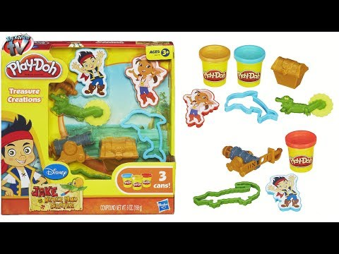 Play-Doh Jake & The Never Land Pirates: Treasure Creations To