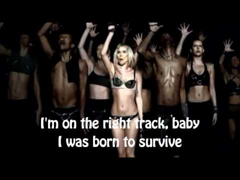 Lady GaGa - Born This Way - lyrics on official music video -lyrics on screen, no intro, only music