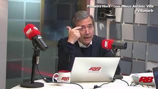 Bolsonaro vai jogar o Brasil na pior crise do século XXI, diz Marco Antonio Villa