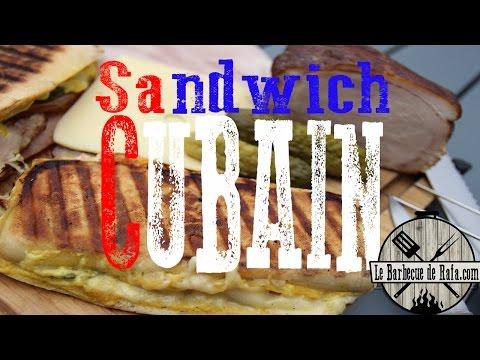 Sandwich Cubain (Panini Party au barbecue)