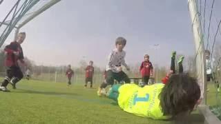Thủ môn 7 tuổi tài năng năm 2015. Hiện tượng bóng đá trong giới trẻ #2