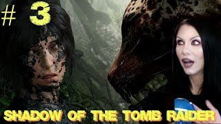 SHADOW OF THE TOMB RAIDER Gameplay Walkthrough - Back In Time To Croft Manor - Part 3 - PS4