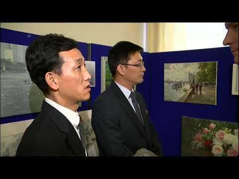 A rare look inside North Korea's London Embassy - Luke Hanrahan reports