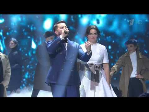 Е.Ваенга и И.Бусулис в Новогоднюю ночь на Первом канале