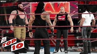 WWE 2K17 - Top 10 Raw Moments - Raw Jan.16, 2017
