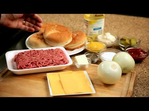 How to make a homemade burger – #1 – Ingredients — Appetites®