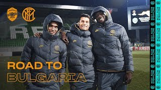 LUDOGORETS vs INTER | ROAD TO BULGARIA | From Milano to Razgrad via Varna! ✈⚫🔵🇧🇬