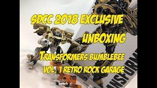 Transformers Build: Studio Series 19 Bumblebee Vol. 1 Retro Rock Garage