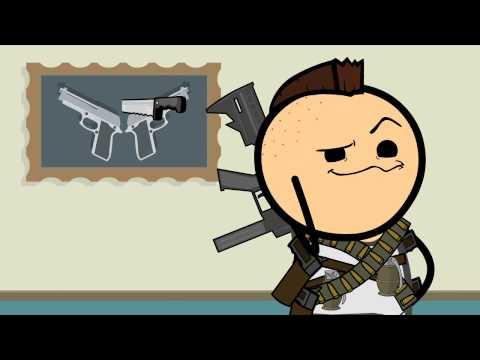 Guns - Cyanide & Happiness Shorts