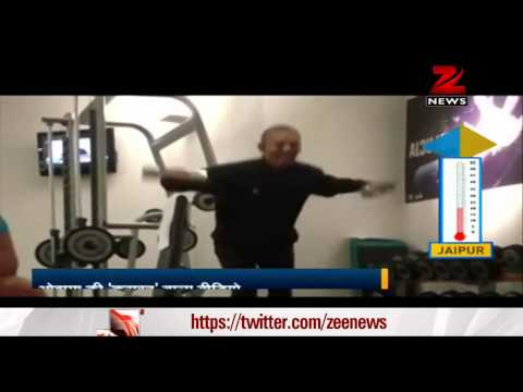 Obama's workout video goes viral