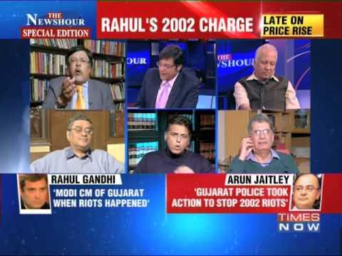 The Newshour Debate: Cagey about  Narendra Modi? - Full Debate (28th Jan 2014)