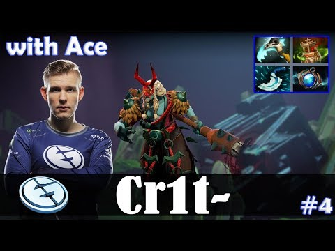 Crit - Grimstroke Offlane | with Ace (MK) | Dota 2 Pro MMR Gameplay #4