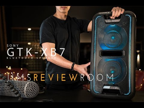 Sony GTK XB7 - BIGGEST BLUETOOTH SPEAKER EVER! - REVIEW