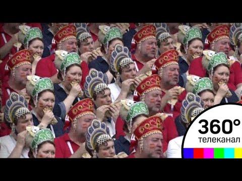 Трио в кокошниках пригласили на матчи Россия - Хорватия как талисманов