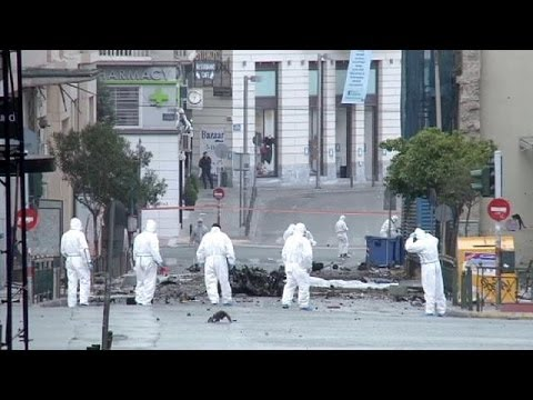 No leads in Athens car bomb attack on Bank of Greece