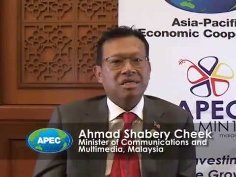 Interview: Malaysia Minister of Communications and Multimedia Ahmad on APEC Move to Digital Economy