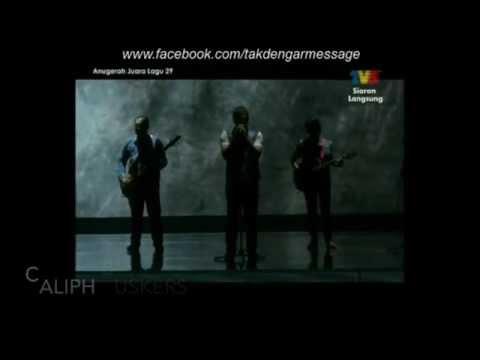RomanCinta AJL29 Caliph Buskers Mojo TV3 Anugerah Juara Lagu 2015