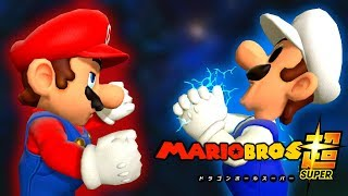 Mario Bros Super - What If Mario was in the World of Dragon Ball