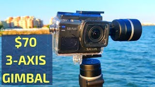2018's Cheapest 3 Axis Gimbal - Funsnap Capture Review and Test