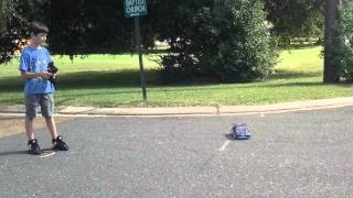 This is a nice RC car videos from Robut my Liam