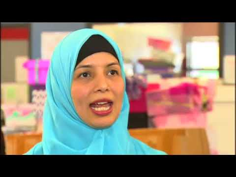 2018 SBS Shoebox4Syria Clip: Raw Interview with Ms Noori Ahmad