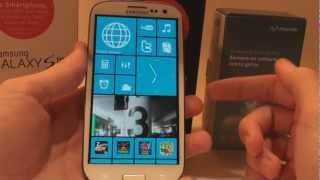 Personalizar Android como WP8 Windows Phone 8 + INTRO // Pro Android
