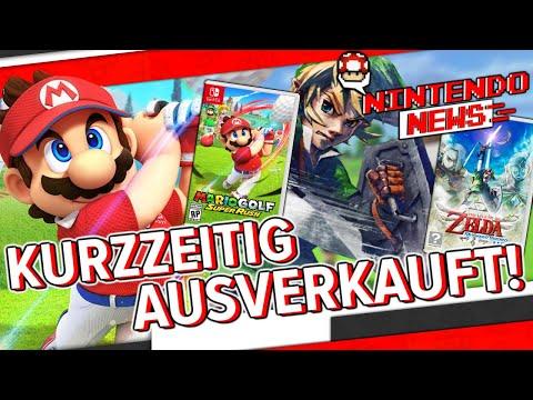 Neue Nintendo Spiele kurzzeitig ausverkauft! / Rares verschollenes N64 Spiel aufgetaucht + spielbar!