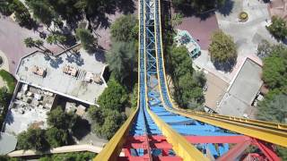 Superman: Escape from Krypton Front Seat on-ride HD POV Six Flags Magic Mountain