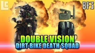 Double Vision - Dirt Bike Death Squad (Battlefield 3 Gameplay/Commentary)