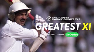 Kris Srikkanth Chooses His GoDaddy Greatest XI | ICC Cricket World Cup 2019