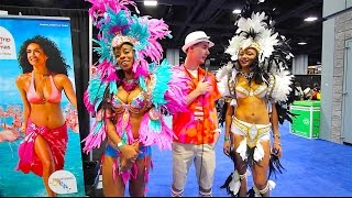 HOT SHOW GIRLS!!! (Travel Expo 2016)