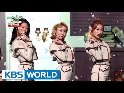 AOA - Excuse me [Music Bank COMEBACK / 2017.01.06] thumbnail