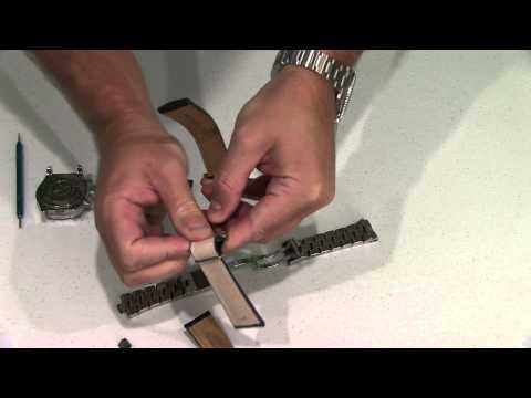 Breitling Bracelet or Strap Replacement Tutorial