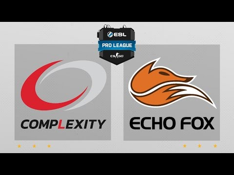 CS:GO - CompLexity Vs. Echo Fox [Train] Map 1 - ESL Pro League Season 4 - NA Matchday 14