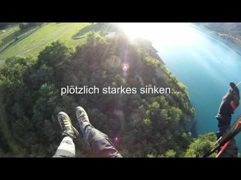 Kurzer Landeanflug am Lac de Serre Poncon
