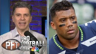 PFT Overtime: Russell Wilson's message to Seattle Seahawks, NFLPA meetings | NBC Sports
