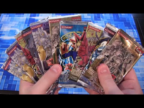 Yugioh Random Pack Opening 10 Old & New Card Packs S15 R1 video