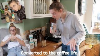 Coffee Hater tries Emma Chamberlain's coffee recipe
