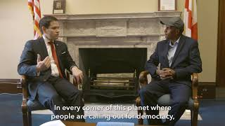 Ethiopian Dissident: Rubio has been the voice of democracy and the oppressed